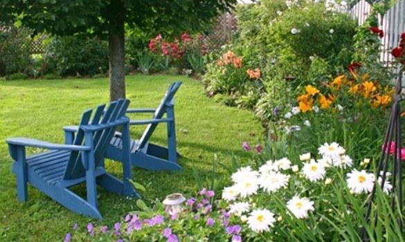 De 30 Fotos De Jardines Sencillos Con Encanto