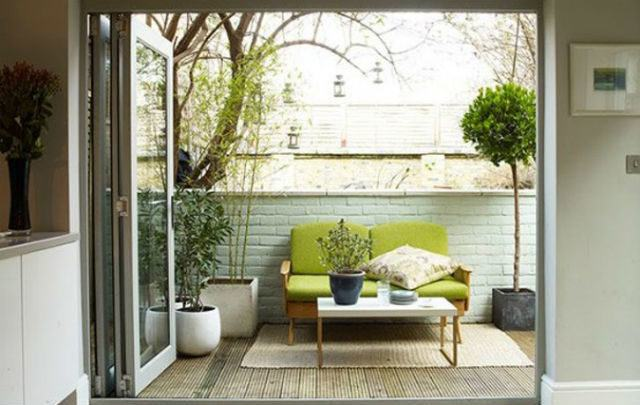 Ideas para decorar jardines peque os y modernos for Muebles jardin pequenos