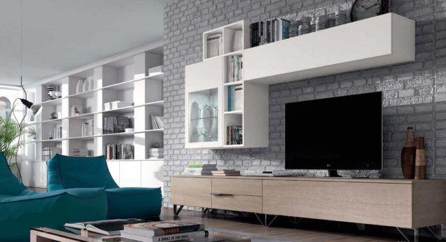 Ideas para decorar salones con encanto colores y estilos - Muebles de salon minimalistas ...