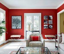 Más de 25 fotos de salones rojos