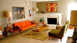 Más de 20 ideas de cómo decorar un salón vintage