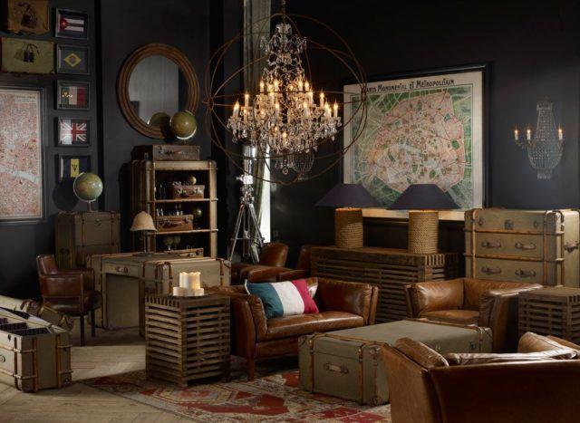 M s de 20 ideas de c mo decorar un sal n vintage - Salones modernos decorados ...