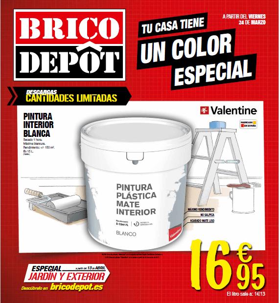 Brico depot cat logo de ofertas abril 2017 - Pintura para azulejos bricodepot ...