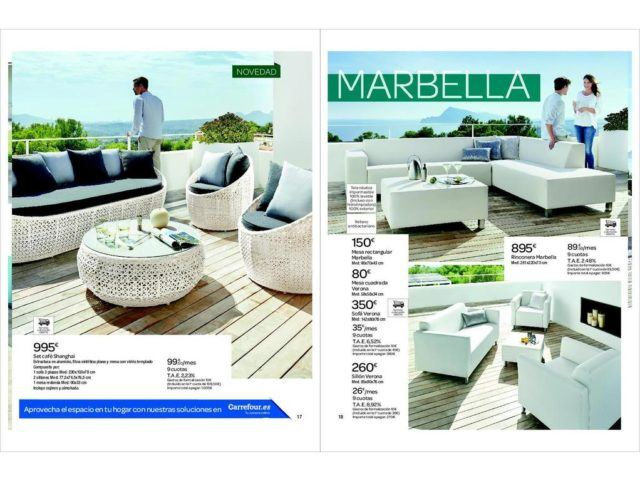 Cat logo carrefour muebles de jard n mayo 2017 for Jardin carrefour 2017