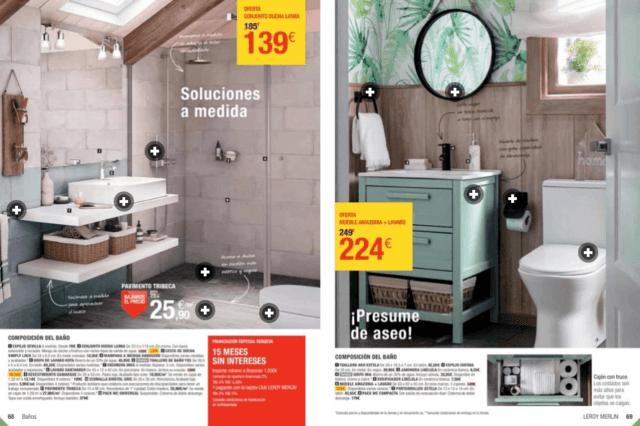 cat logo leroy merlin ofertas octubre 2017. Black Bedroom Furniture Sets. Home Design Ideas