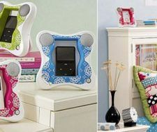 Butterfly iPod Docks para el cuarto de las niñas