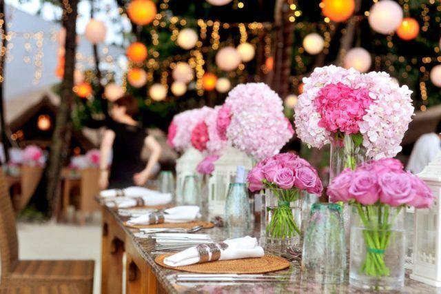 ideas de decoración de bodas 2019