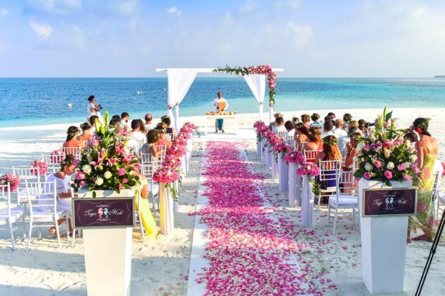 Matrimonio Simbolico En La Playa : Ideas de decoración bodas