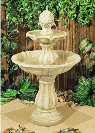 M s de 100 fotos de modelos de fuentes de jard n que os van a encantar - Fuente terraza ...