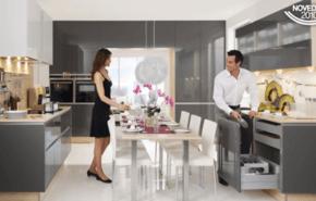 Ideas y propuestas de repisas de madera modernas - Singular kitchen madrid ...