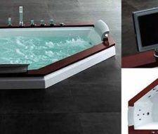 Jacuzzi Royal A-512 Whirlpool con televisión LCD
