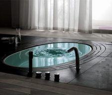 Sorgente, una bañera moderna de alta tecnología