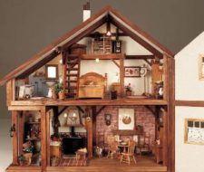 Hacer casas muñecas
