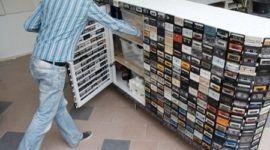 Armario Retro Cassettes
