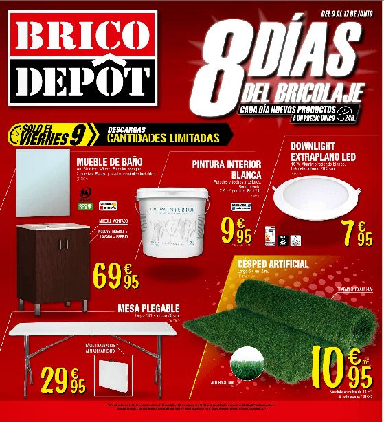Brico depot cat logo de ofertas diciembre 2017 for Bricodepot productos