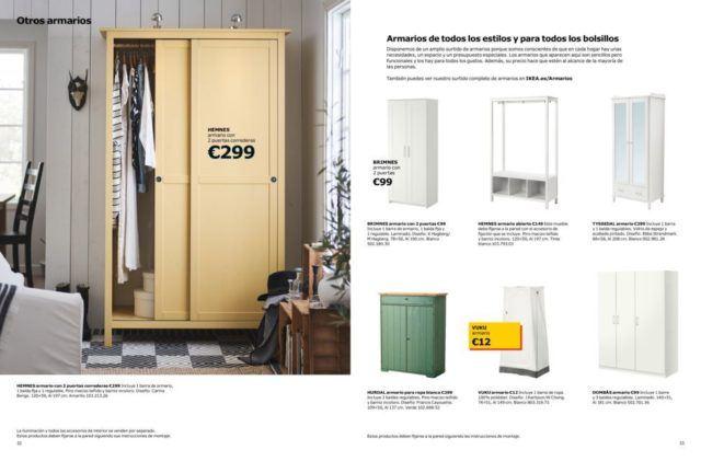 Cat logo armarios ikea 2018 for Ikea armarios habitacion
