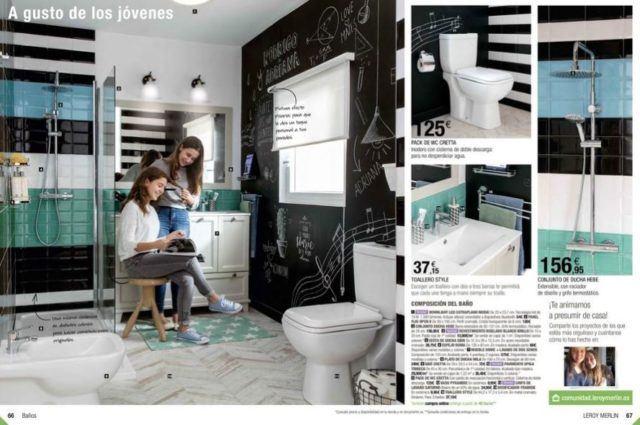 Catálogo Leroy Merlin baños 2019