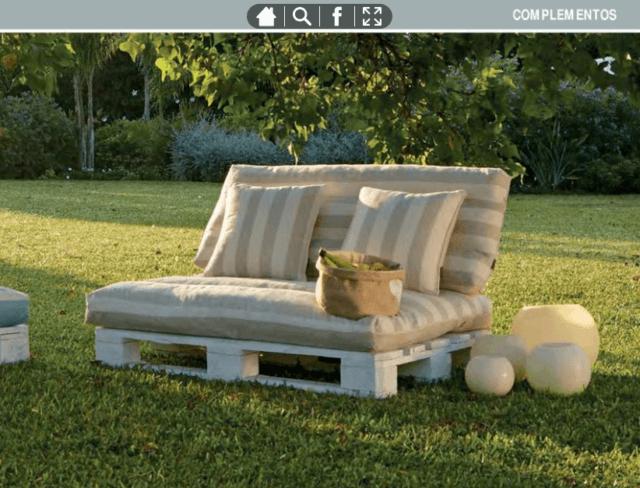 Leroy merlin muebles y complementos de exterior 2018 for Sofa exterior leroy merlin