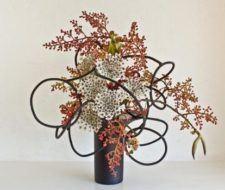 Ikebana  arte floral Japon