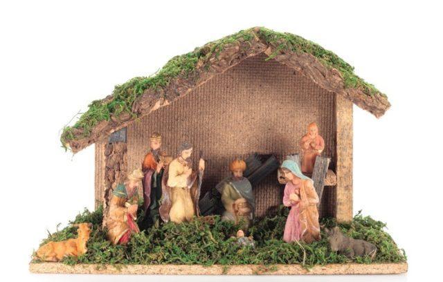 Portal de belen para navidad