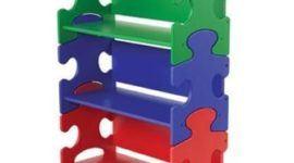 Estantería Puzzle para el dormitorio infantil