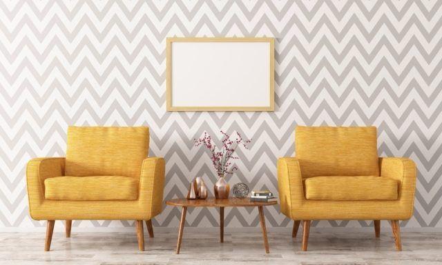 Revestimiento de paredes geometrico
