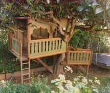 Construir una casa del árbol