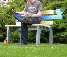 Tweeting seat, un asiento interactivo