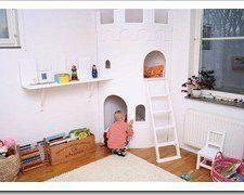 Un castillo para el dormitorio infantil