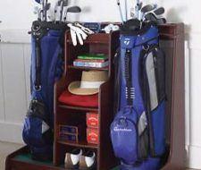 Práctico organizador para los golfistas