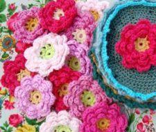 Flores ganchillo  como se hacen