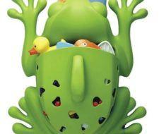 Frog Pod, accesorio infantil para el cuarto de baño
