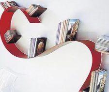 Bookworm, una estantería flexible