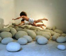 Livingstones: cojines que parecen piedras