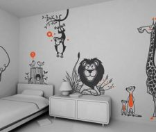 Decorar con pegatinas