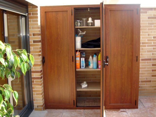 Armario exterior de terraza ideas pr cticas de almacenamiento de exterior 2019 - Armarios para trasteros ...