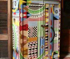 Muebles decorados con pinturas