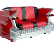 Sofá Cadillac, para los amantes de los coches clásicos