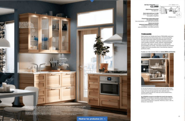 Every time people see the new Ikea kitchens  they always wonder why they  don t have a bigger one because they are awfully pretty  However  as we  will see in. IKEA kitchen catalog 2018  2017  September    EspacioHogar com