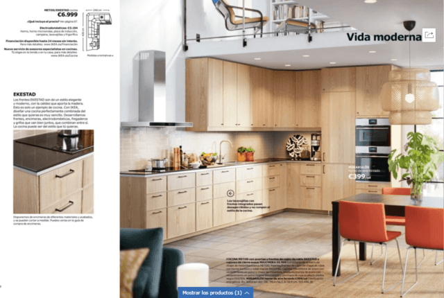 Cat logo cocinas ikea 2018 2019 for Catalogo de ikea cocinas