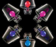Lámparas que cambian de color