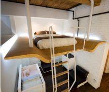 Haciendo espacio para el dormitorio del bebé