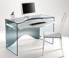 Espacios pequeños| muebles trasparentes