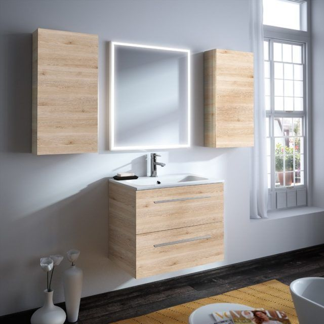 muebles lavabo color natural