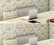 Papel tapiz sensible al calor