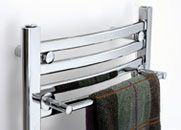 Radiador y toallero con sistema de aromaterapia