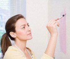 Pinturas ecológicas lavables y con fragancias aromáticas