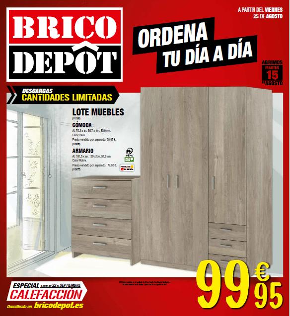 Aparador Espelhado Para Sala ~ Brico Depot catálogo de ofertas octubre 2017