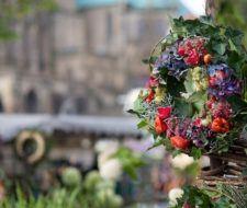 Coronas y centros florales para difuntos – Día de Todos los Santos