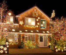 Decoración de jardines para Navidad